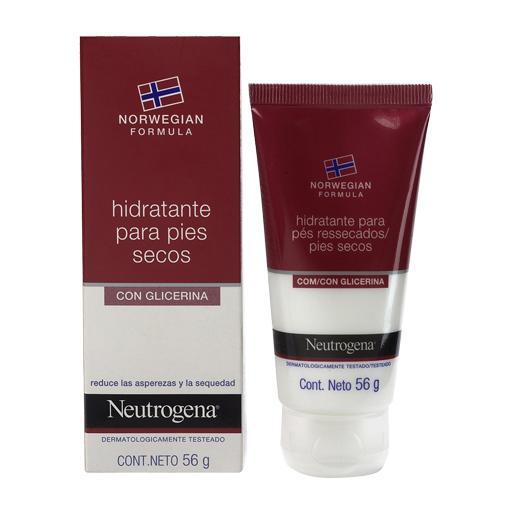 NEUTROGENA® Fórmula Noruega Crema Hidratante Para Pies Resecos