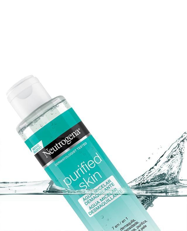 NEUTROGENA® PURIFIED SKIN® Agua Micelar 7 en 1